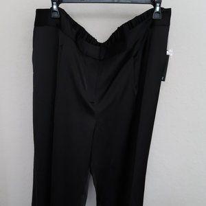 24W Vince Camuto Plus, Wide Leg Front Pleat Pants